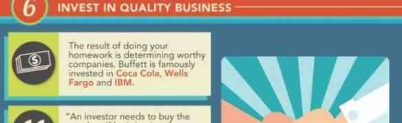 10 lecciones financieras de Warren Buffett